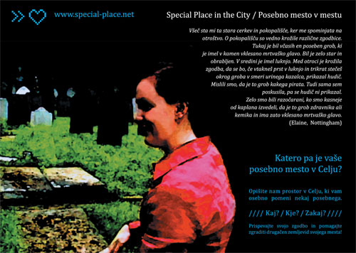 Kartica Special Place in the City - Celje